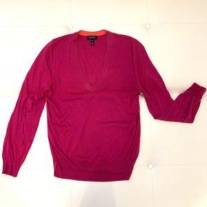 ESCADA V-Neck Sweater Sz M